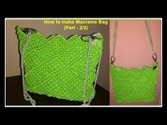 Crazy bag round- Crochet - YouTube