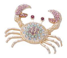 Brosche - Shiny Crab - Bijou Brigitte Online-Shop