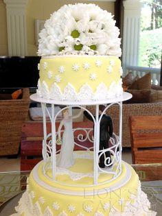 lions cakes france gteau de mariage casher avec marguerites - Gateau De Mariage Lille