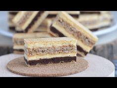 O mulțime de prăjituri cad din această rețetă. Este minunat pentru diverse sărbători. - YouTube Nutella, Pastry Cake, Cake Cookies, Vanilla Cake, Tiramisu, Biscuits, Donuts, Ethnic Recipes, Cakes