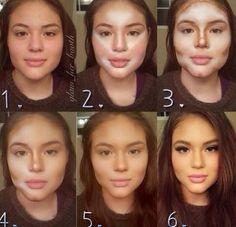 Vaya Face!: Nuevos milagros del maquillaje...cada vez más impresionantes!!