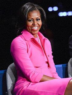The First Lady in Pink!