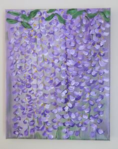 Wisteria by AliciaArtCreations on Etsy
