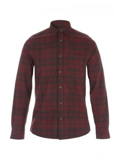 A check shirt is a fail safe option for your every day wear! This long sleeve shirt in a melange check pattern is a brilliant shirt for all smart/casual occa. Check Shirt, Smart Casual, Flannel, Long Sleeve Shirts, Plaid, Goals, Shirt Dress, Pattern, Mens Tops