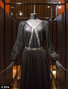 One-of-a-kind creations: the exhibit offers a rare chance to see some of Lanvin's acclaime...