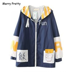 Coats For Women, Clothes For Women, Cute Hoodie, Outerwear Jackets, Rain Jacket, Cartoons, Hoodies, Hooded Coats, Black Jackets