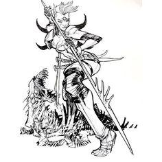 Zealot by Eric Canete #zealot #wildcats #daemonite #art #illustration #ericcanete