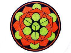 platonical beauty holy geometry patch sacred art por ImZauberwald