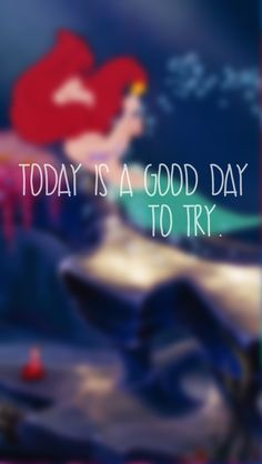 Today is a good day to try