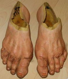 Feet Shoes! Flipping gross!