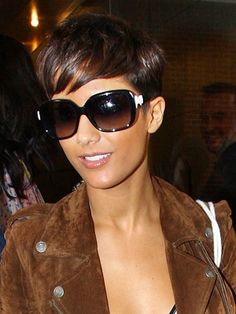 Frankie Sandford...this chick always has awesome hair