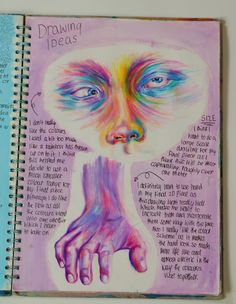 Purple aesthetic gcse art sketchbook, sketchbook ideas, a level sketchbook, sketchbook layout, Arte Gcse, Portfolio D'art, Art Inspo, Art Sketches, Art Drawings, Drawing Art, Drawing Ideas, Gcse Art Sketchbook, Sketchbooks
