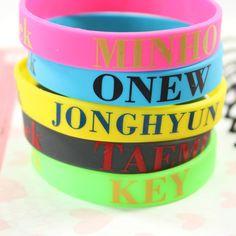 SHINee Wristband Bracelet :P