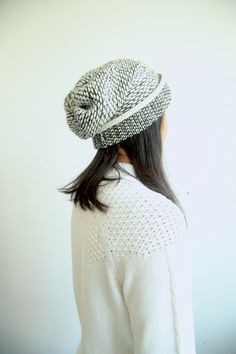 Seed Stitch Wool Hat Cream / hand made in brooklyn Crochet Quilt, Knit Crochet, Rachel Zoe, Thick Sweaters, Seed Stitch, Love Hat, Scarf Hat, Knitting Accessories, Knitted Hats