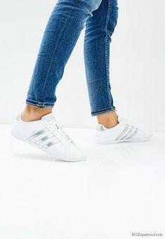 2018 Cómodas Hombre Adidas Blanco Zapatillas De Deporte