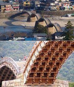 Unique Bridges Around the World Kintaikyo, Iwakuni, Japan