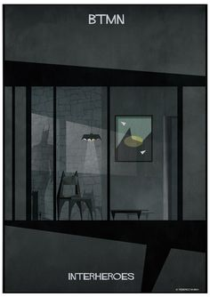 Italian architect and illustrator Federico Babina is back with a new series titled Interheroes, at the crossroads of architecture, pop culture and illustration. Collage Illustration, Retro Illustration, Digital Illustration, Graphic Design Posters, Graphic Design Inspiration, Graphic Art, Comic Layout, Realistic Drawings, Star Art