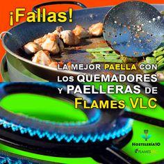 Los quemadores y paelleras de Flames VLC, ¡la mejor elección! #quemadores #paelleras #hostelería #maquinaria #fallas