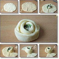Petits pain à l'épinard