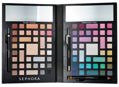 Sephora Collection Holiday 2015 Sets & Kits | Color Wonderland Neutral & Vivid Eyeshadow Palette ($59.00) (Limited Edition)