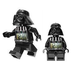 LEGO Star Wars Darth Vader Minifigure Clock #merchandise #lego #clock [affiliate-link]