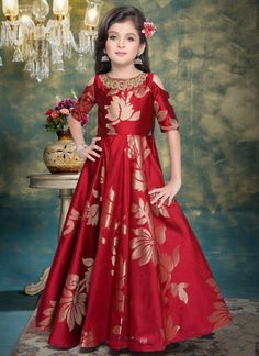 434ea579e Online shop kids wear - embroidery kids gown - wholesale collection online  shopping in kerela
