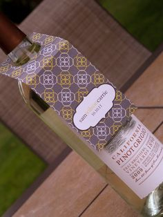 @Nicole Takehara, I could make these for the wine bottles!