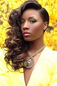 Beautiful. To learn how to grow your hair longer click here - http://blackhair.cc/1jSY2ux
