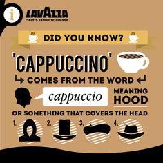 #Lavazza fun coffee facts