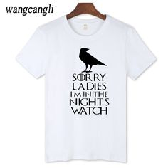 >> Click to Buy << T-shirt men Game of thrones men short sleeve fun and streetwear tshirt with funny printing fashion soft cotton #Affiliate