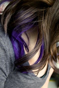 Purple streak