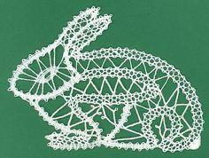 Tape lace rabbit