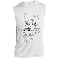 Hoping this new Your Vibe....ST35... inspires you to protect cats. 100% of profits supports cats from tabbies to tigers http://catrescue.myshopify.com/products/st352-sport-tek-sleeveless-performance-t-shirt-35?utm_campaign=social_autopilot&utm_source=pin&utm_medium=pin