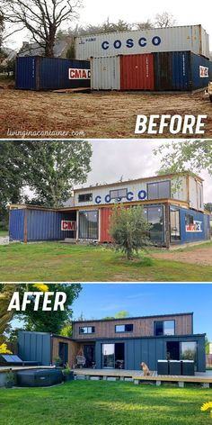 Building A Container Home, Storage Container Homes, Container Buildings, Container Architecture, Container House Design, Tiny House Design, Modern House Design, Contener House, Tiny House Living