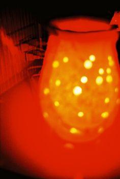 A desk lamp