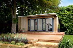 Garden studio Backyard Studio, Garden Studio, Outdoor Office, Tiny Studio, Garden Buildings, Garden Office, Sunroom, Shed, Home And Garden