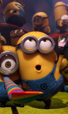 Minions Do Mal, Amor Minions, Minions Cartoon, Evil Minions, Minions Funny Images, Minions Despicable Me, My Minion, Minions Quotes, Funny Minion
