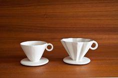 coffee dripper by Masanobu Ando