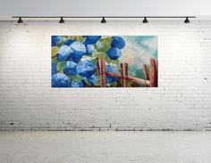 Obraz w kolorze, akryl na płótnie zabezpieczony werniksem. Tematyka - natura.