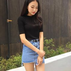#Korean Fashion #Kdailystyle #mixxmix_youth #Akiwarinda