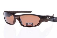 Oakley Flak Jacket Sunglasses Deep Brown Frame Brown Lens 0326