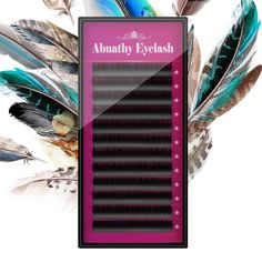 Abnathy 1 stück 0,07 JBCD Wellung 12 Reihen Pro Fach Volume Wimpernverlängerung Mink Falsche Falschen Wimpern