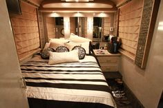 Thompson Square's master bedroom. See MORE pics of celeb motor homes>> http://www.greatamericancountry.com/shows/celebrity-motor-homes/top-25-celebrity-motor-homes--pictures?soc=pinterest