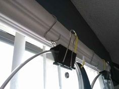 S-hooks and binder clips as pot storage. | 31 Cheap And Brilliant Dollar Store Hacks