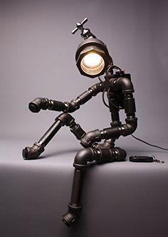 Roboter Lampen Wohnzimmer Schlafzimmer Deluxe Eisen Edels... https://www.amazon.de/dp/B00NMB5R3E/ref=cm_sw_r_pi_dp_Y-7GxbWR57H41