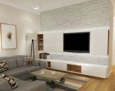 Best living room design ideas to match your style #livingroom #tvunit #entertainmentunit # #tvcabinet #tvunitdesign