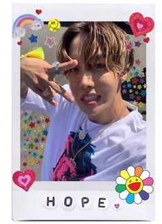 Pop Stickers, Printable Stickers, Foto Bts, Bts Polaroid, Polaroids, J Hope Dance, Hoseok Bts, Jhope, Bts Aesthetic Pictures