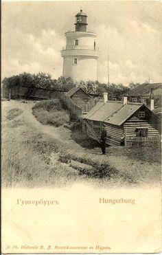 narva lighthouse, i.e. Narva-Joesuu. Hungerbrug was the former German name.