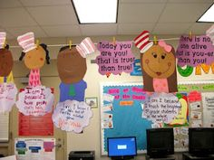 Dr. Seuss: Oh the Place you will Go!..... cute for you teachers who do Dr. Seuss Week