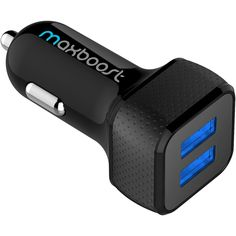 Car Charger, Maxboost 4.8A/24W 2 USB Smart Port Car Charger [Black] for iPhone 7 6S Plus 6 Plus 6 5SE 5S 5 5C, Samsung Galaxy S8 S7 S6 Edge, Note 8 4 S5,LG G6 G5 G4,HTC,Nexus 5X 6P,iPad Pro Portable         >>> Click on the image for additional details. (This is an affiliate link) #CellPhonesAccessories